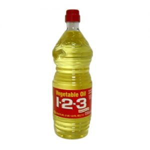 1-2-3 Vegetable Oil 33.81oz