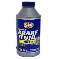 STP Brake Fluid Dot 3 12oz