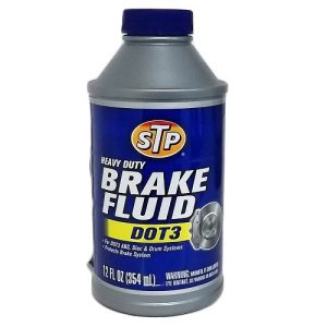 STP Brake Fluid Dot 3 12oz