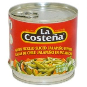 La Coste?a Sliced Jalape?os 12oz