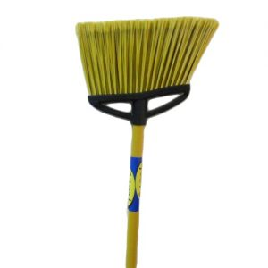 Angle Broom Lg Yellow