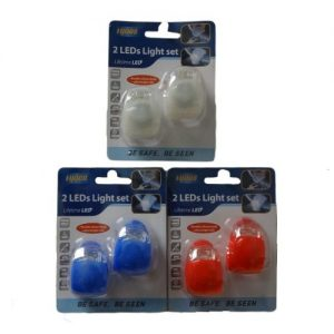 Bicycle LED Lights 2pc Asst Clrs