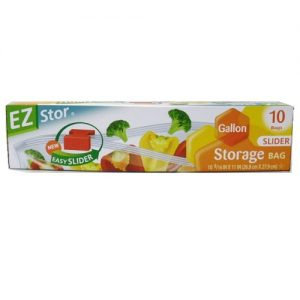 EZ Stor Storage Bags 10ct 1 Gl Slider