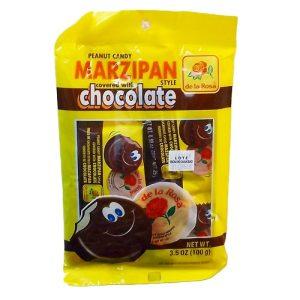 De La Rosa Marzipan Choc 4ct 3.5oz
