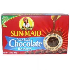 Sun-Maid Choc Covered Raisins 3.5oz