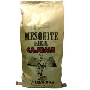 Cajeme 15 Lbs Mesquite Charcoal