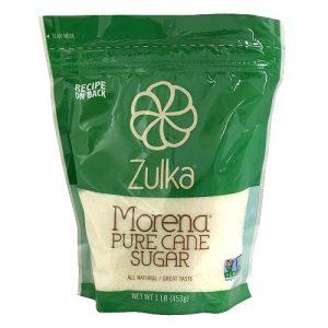 Zulka Morena Pure Cane Sugar 1 Lb