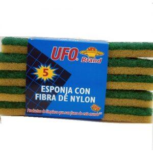 UFO Sponge Scrubbers 5pk Thin