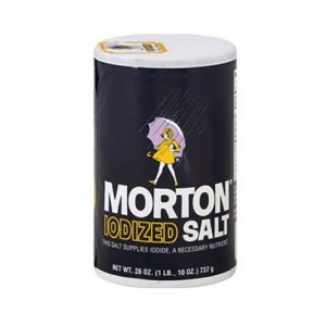 Morton Salt Iodized 26oz