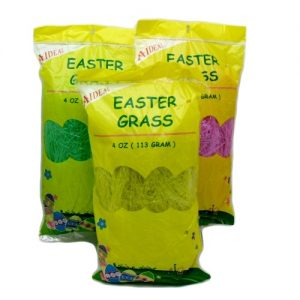 Easter Grass 4oz Grn Ylw AND Pink Asst