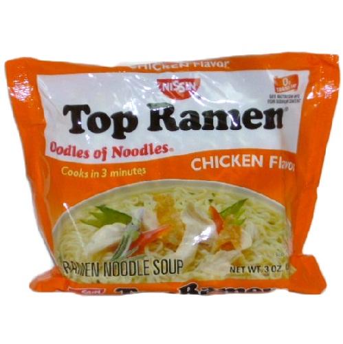Nissin Top Ramen Chicken 3oz