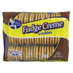 Lil Dutch 13oz Fudge Creme Cookies