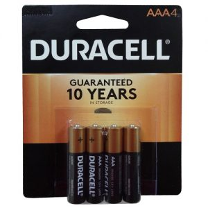 Duracell AAA 4pk Batteries