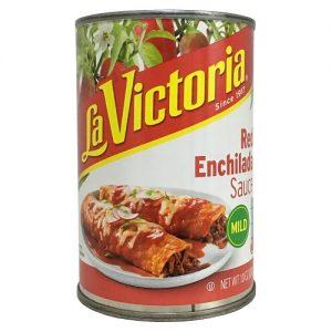 La Victoria Red Enchilada Sauce 10oz Mil