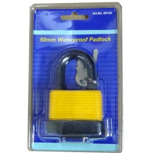 Waterproof Padlock 50mm W2 Keys