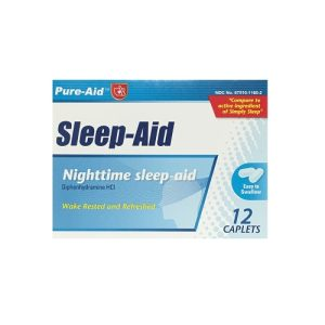 Pure-Aid Sleep-Aid 12ct Tablets