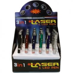 3 In 1 Laser AND Led Pen