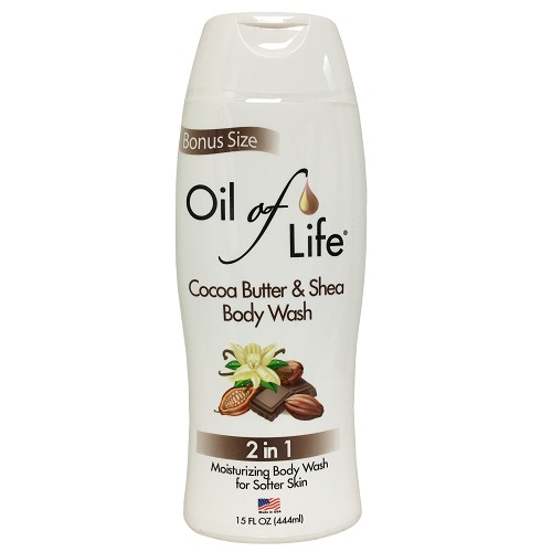Oil Of Life 2 In 1 15oz Body Wash Cocoa