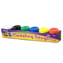 Modeling Dough 6pc Asst Clrs