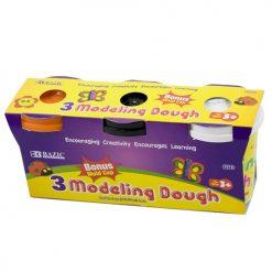Modeling Dough 3pc Asst Clrs
