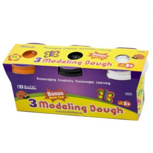 Modeling Dough 3pc Asst Clrs
