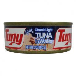Tuny Chunk Light Tuna In Water 5oz