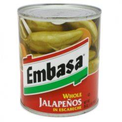 Embasa Jalapeno Peppers 26oz Whole