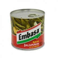 Embasa Jalapeno Sliced Peppers 12oz