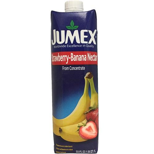 Jumex Tetra Pack Straw-Ban 33.81oz