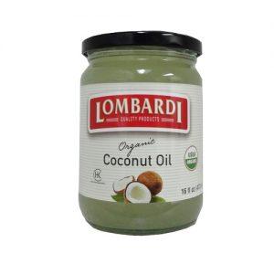 Lombardi Organic Coconut Oil 16oz