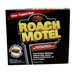 Black Flag Roach Motel Traps 2ct