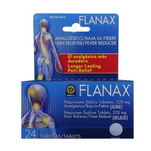 Flanax Tablets 24ct Pain Reliever