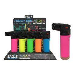 E.T Torch Gun Lighter Asst Neon Clrs