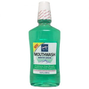 Lucky Mouthwash Wintergreen 16.9oz
