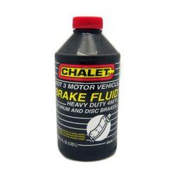 Chalet Brake Fluid 12oz Dot 3