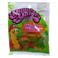 Yumy Yumy Wonder Worms Gummy 4oz