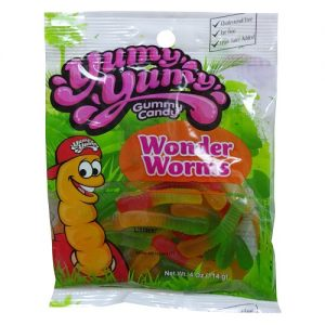 Yumy Yumy Wonder Worms Gummy 4oz