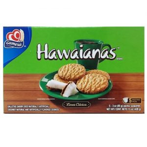 Gamesa Hawaianas Cookies 15oz