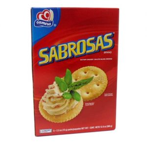 Gamesa Sabrosas Crackers 12.6oz