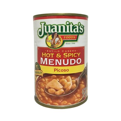 Juanitas Menudo Hot N Spicy 15oz