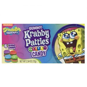 Sponge Bob Krabby Patties Color Candy 8c