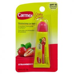 Carmex Lip Balm Strawberry .35oz Tube Me