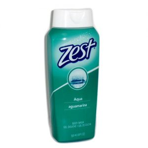 Zest Body Wash 18oz Aqua