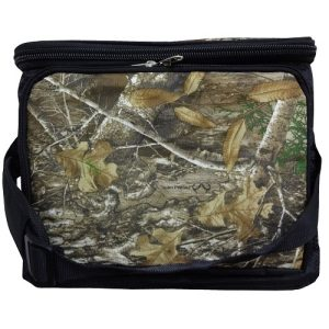 Camo Cooler Bag 30 Can W-Hard Plastic