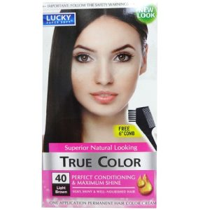 True Color Hair Color Light Brown #40