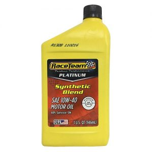 R.T Motor Oil SAE 10W-40 1qt Synthetic