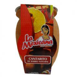 Cantarito De Barro Hand Painted