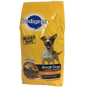 Pedigree Dog Food 3.5 Lbs Chicken Sml Do