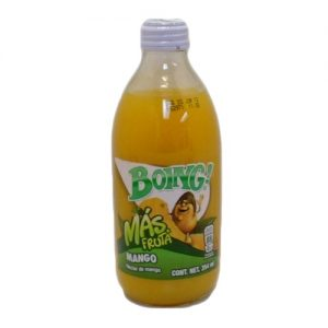 Boing Mango Juice 12oz Glass