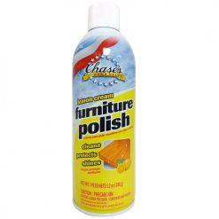 Chase Furniture Polish 12oz Lemon Cream
